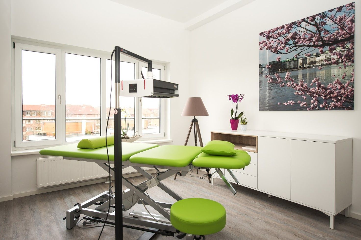 Behandlungzimmer My Physio Physiotherapie Hamburg Barmbek